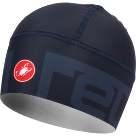 Castelli Viva 2 Thermo Skully Hat dark steel/ blue